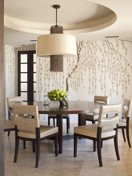 WALL MURAL In The Dining Room See My New Home Design Checklist At