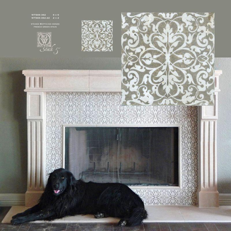 Decorative Tile Inserts Kitchen Backsplash Decorative Etched Stone Tiles  Backsplash Dot Insert Wainscot