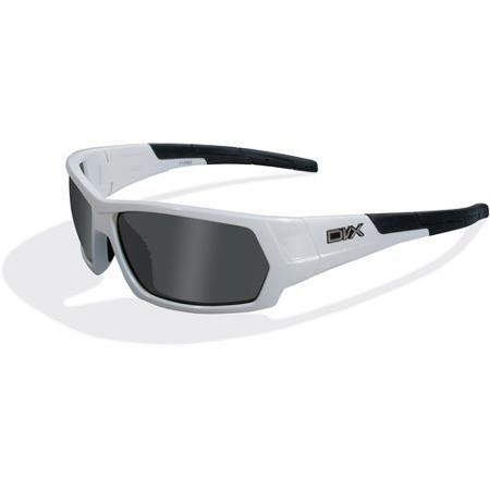 DVX Next Polarized Grey Lens/ Gloss Pearl White Frame Rx-able ...
