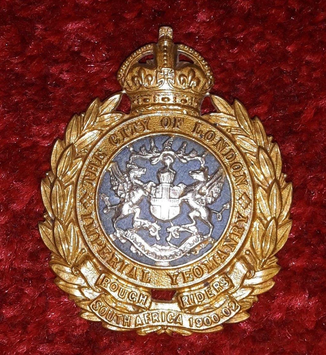 Yeomanry badges
