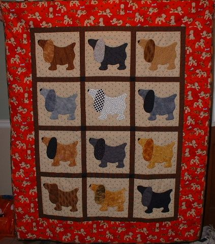 Puppy Dog Quilt Blankets Pinterest Dog Quilts Quilts And