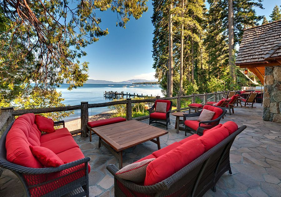 25 awesome rustic decks that offer a tranquil escape garden rh pinterest com