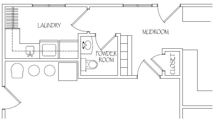 Struggling with project r in 2019 mudroom laundry room - Laundry room floor plans ...