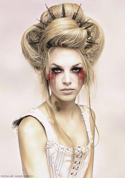 Brilliant 50 Best Steampunk Hair Https Fazhion Co 2017 04 24 50 Best Steampunk Hair Our Choice Of Fine Decor Even E Halloween Haar Kinder Haar Haar Styling