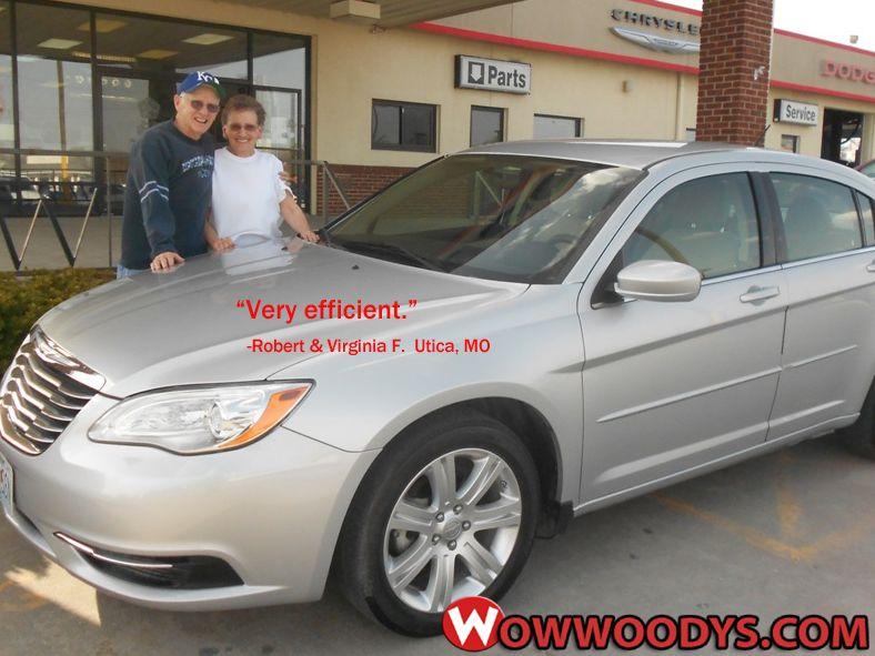 Robert and Virginia Finuf from Utica, Missouri purchased