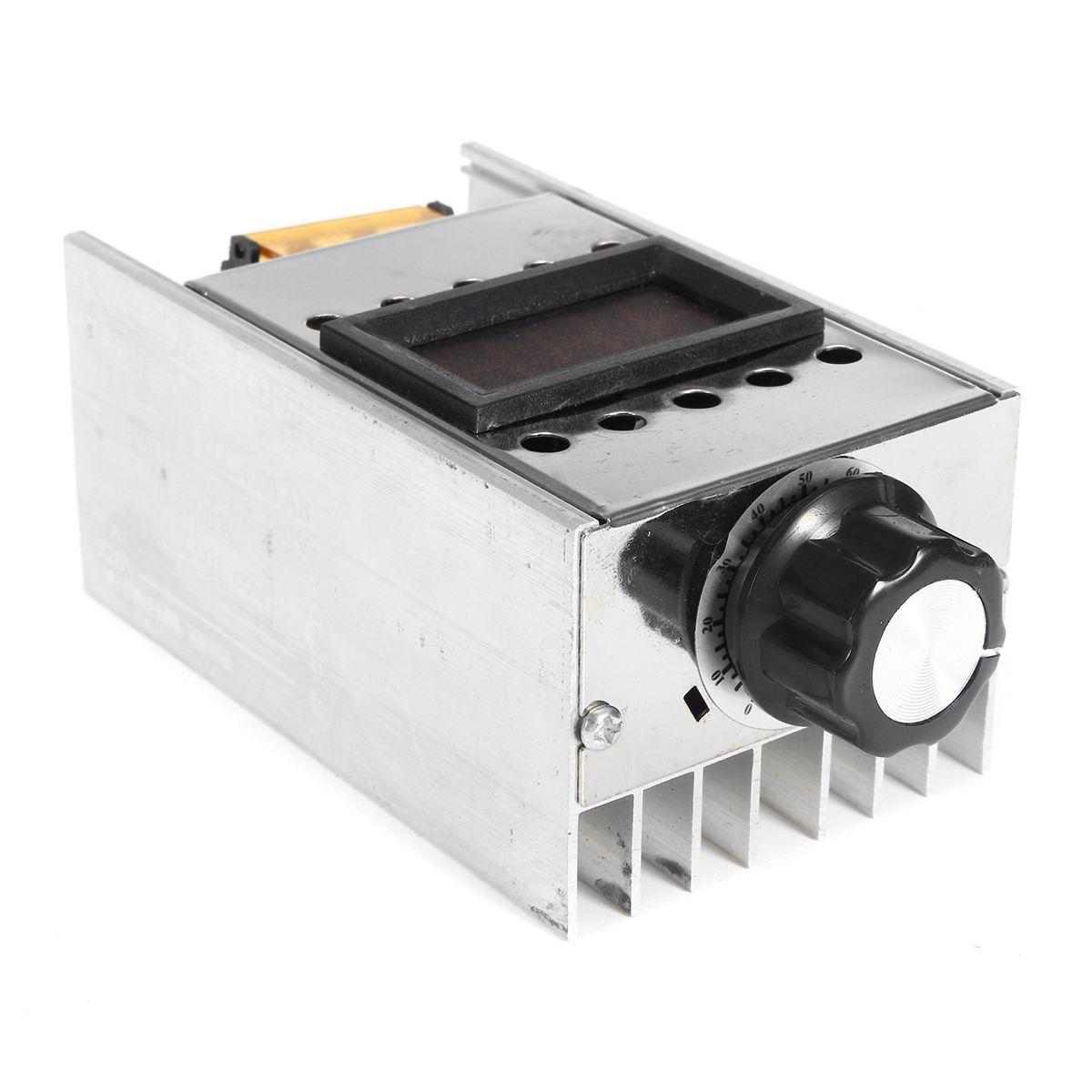 4000W Variable Voltage Motor Speed Controller AC 220V Adjustable ...