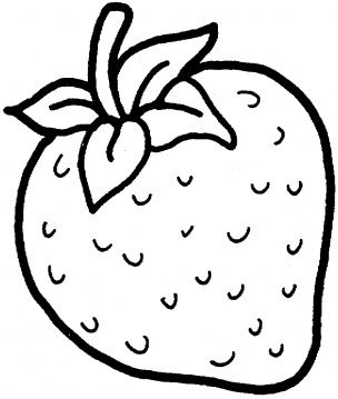 Two Strawberries Coloring Page Super Coloring Fruit Coloring Pages Coloring Pages Coloring Pages For Kids