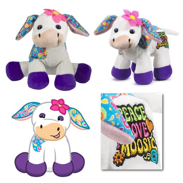 Webkinz Rockerz Peace Love & Moosic Cow | Webkinz ...