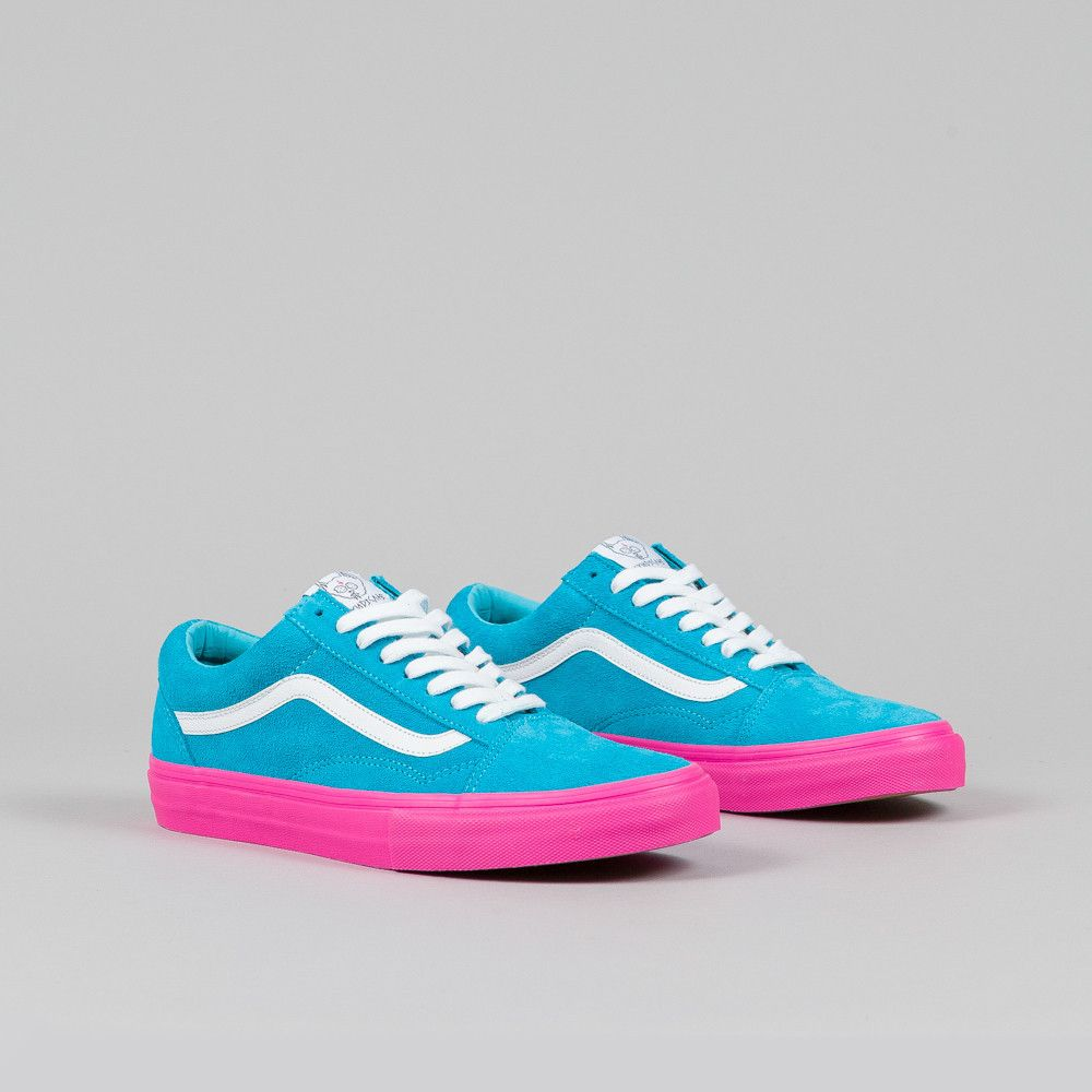 Vans Syndicate Old Skool Pro  S  (Golf Wang) Blue Pink  69b74e6ef