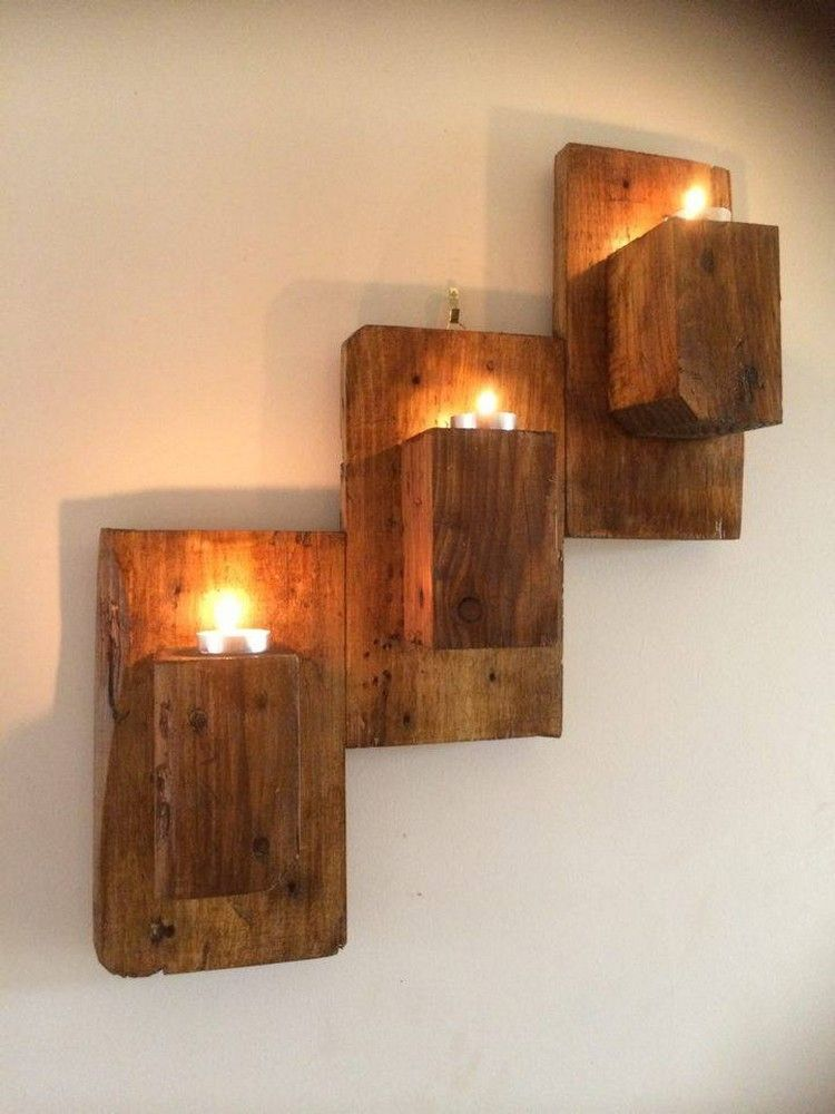 Recycled Pallet Home Decor Projects