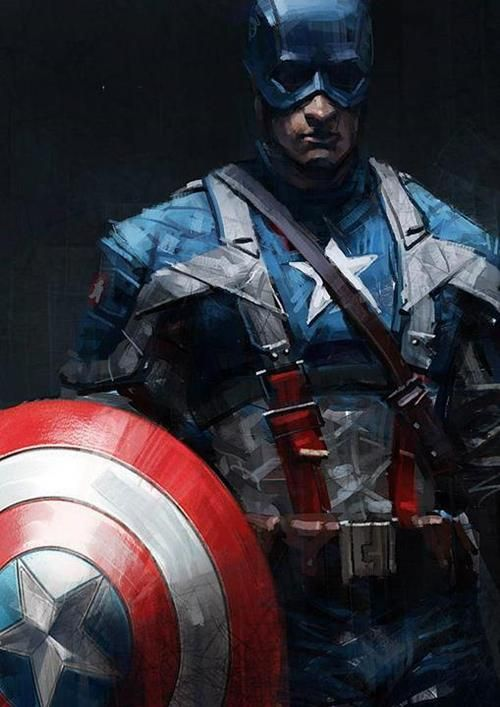 Captain America by Kevin Hou *