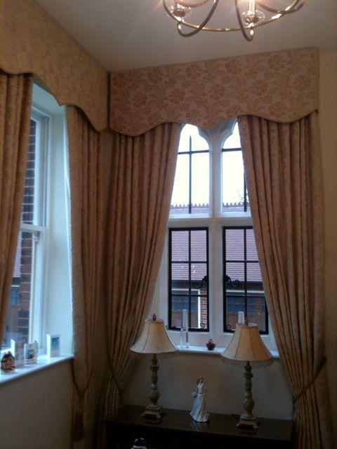 Gothic Window Treatment For Converted Monarstary TreatmentsGothic Design
