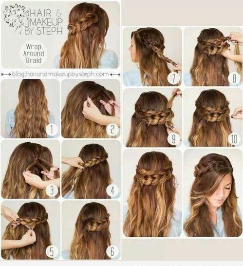 75 Peinados Para La Escuela Fáciles Y Rapidos Paso A Paso Peinados Poco Cabello Peinados Cabello Corto Peinados Con Trenzas