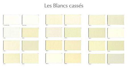 Nuancier 24 Teintes De Peinture Blanche Ressource Peinture Couleur Blanc Nuancier Peinture Peinture Blanc Casse