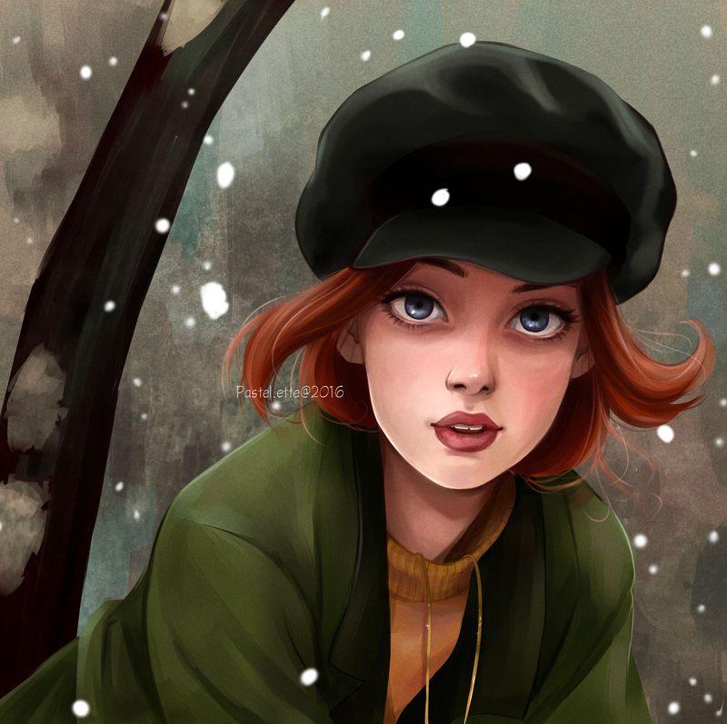 Anastasia by Pastel-le on DeviantArt