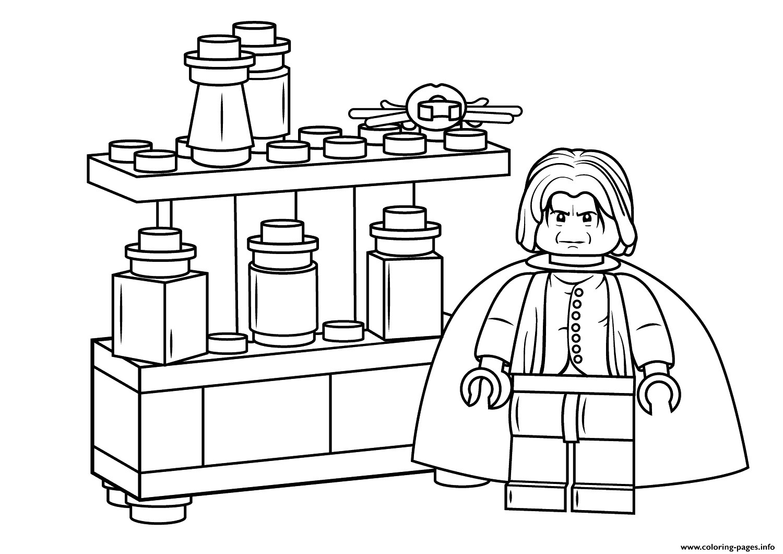 Print lego severus snape harry potter coloring pages Bursdag