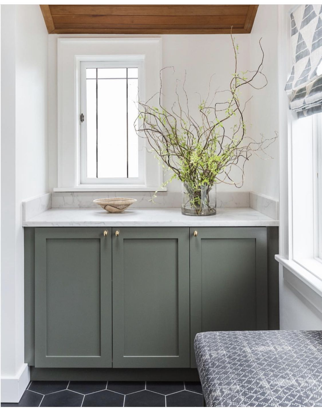 Pin By Limor Pinz On Ideas For The House Green Bathroom Laundry Room Design Green Cabinets