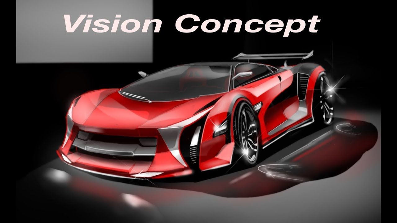 Concept Vision Super Car Sketch Cars Design How To Draw A Various Cars Super Cars Car Sketch Car