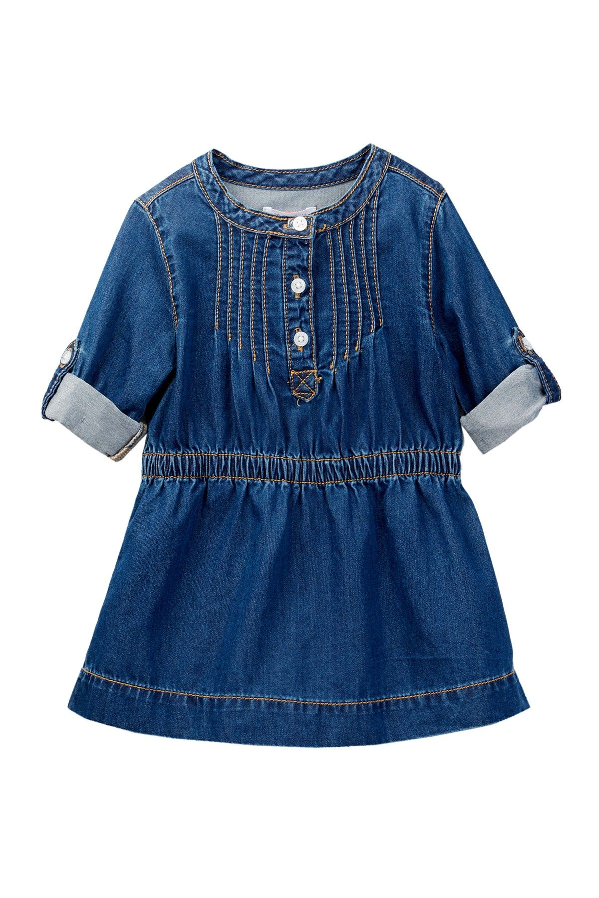 Denim Dress Baby Girls 12 24M by Joe Fresh on nordstrom rack