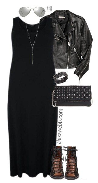 Photo of Plus Size Black Maxi Dress Outfits – Alexa Webb