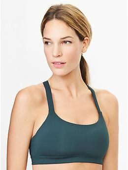 7b7a78300530c Low impact kissing-back sports bra abyss M