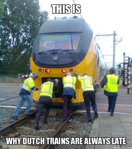 Dutch Railways Best Funny Pictures Funny Funny Gif