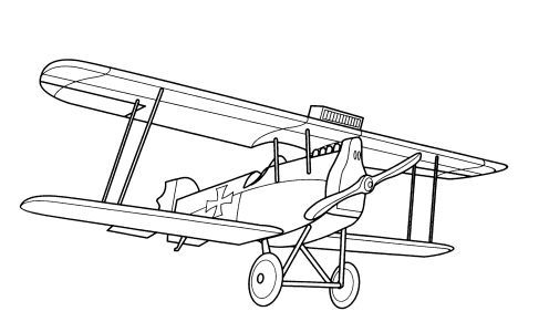 Airplane Coloring Pages For B Airplane Coloring Pages Free