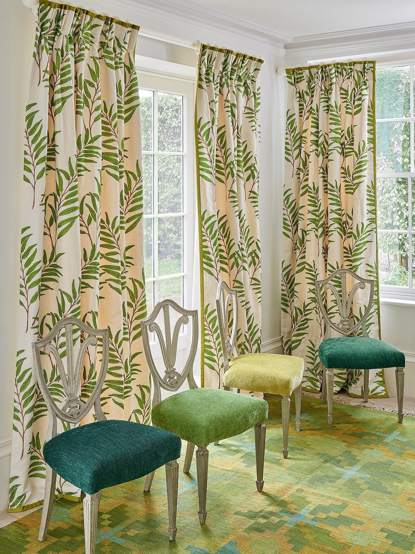 Cowtan & Tout | Curtain styles, Contemporary living room ...