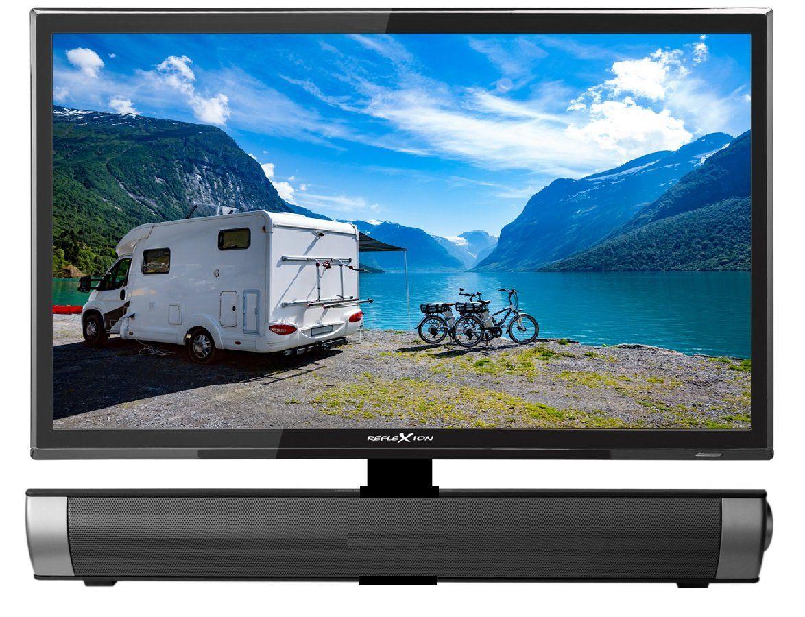 Reflexion Ledw22sb Led Fernseher 22 Zoll Mit Soundbar Fur Wohnmobile Mit Dvb T2 Hd Triple Tuner Und 12 Volt Kfz Adapter Hd Read In 2020 Led Fernseher Kfz Fernseher