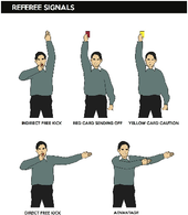 How To Understand Soccer Referee Signals Soccer Referee Soccer Soccer Coaching