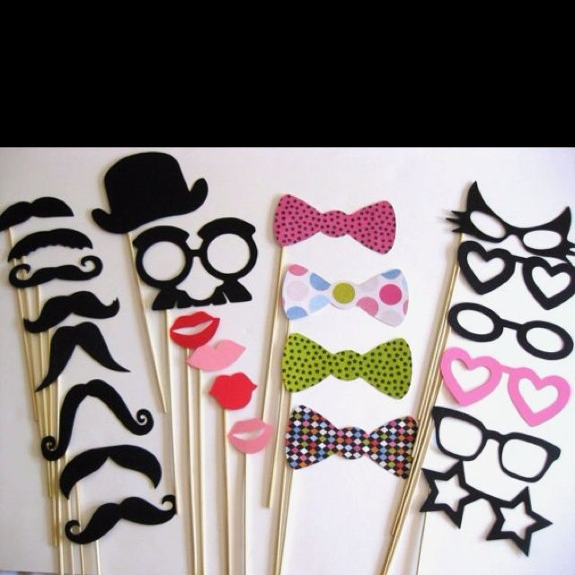 photo booth decorations | For photo booth | Party Ideas