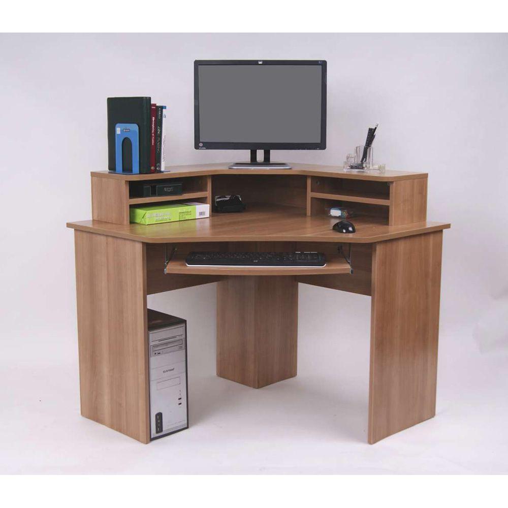 home office furniture corner desk. Ferrera Corner Desk, Oak Effect, 740 X 1000 1000mm Home Office Furniture Desk W