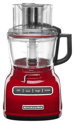 kitchenaid 9 cup food processor empire red kfp0933er kitchenaid robot da cucina e cibo