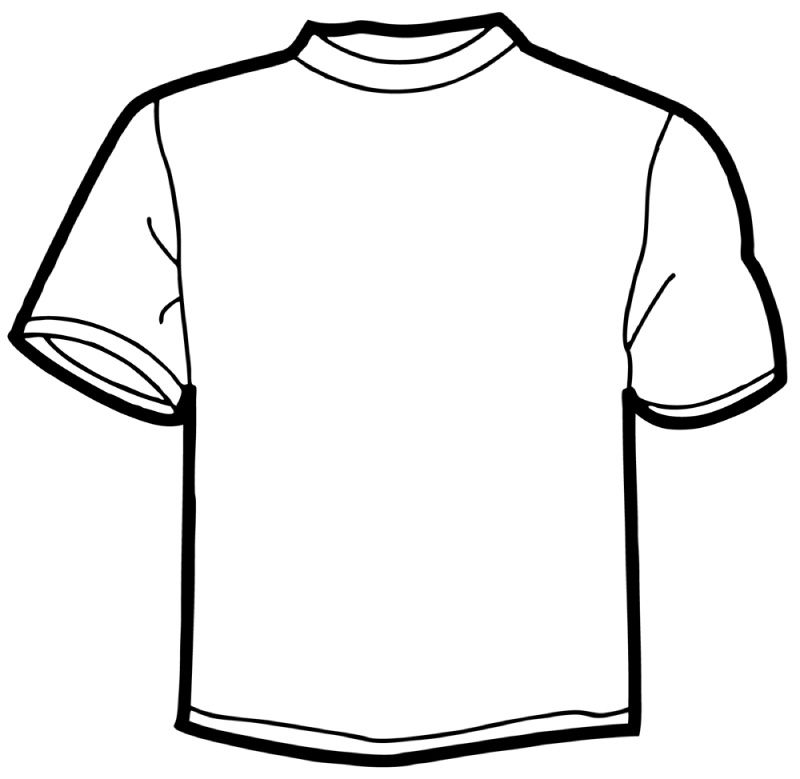 12 Online T Shirt Template Free Cliparts That You Can