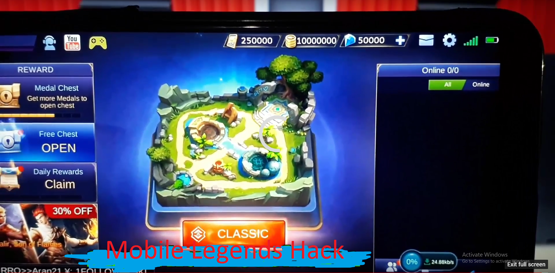 Pin On Mobile Legends Hack Diamonds 114 Working