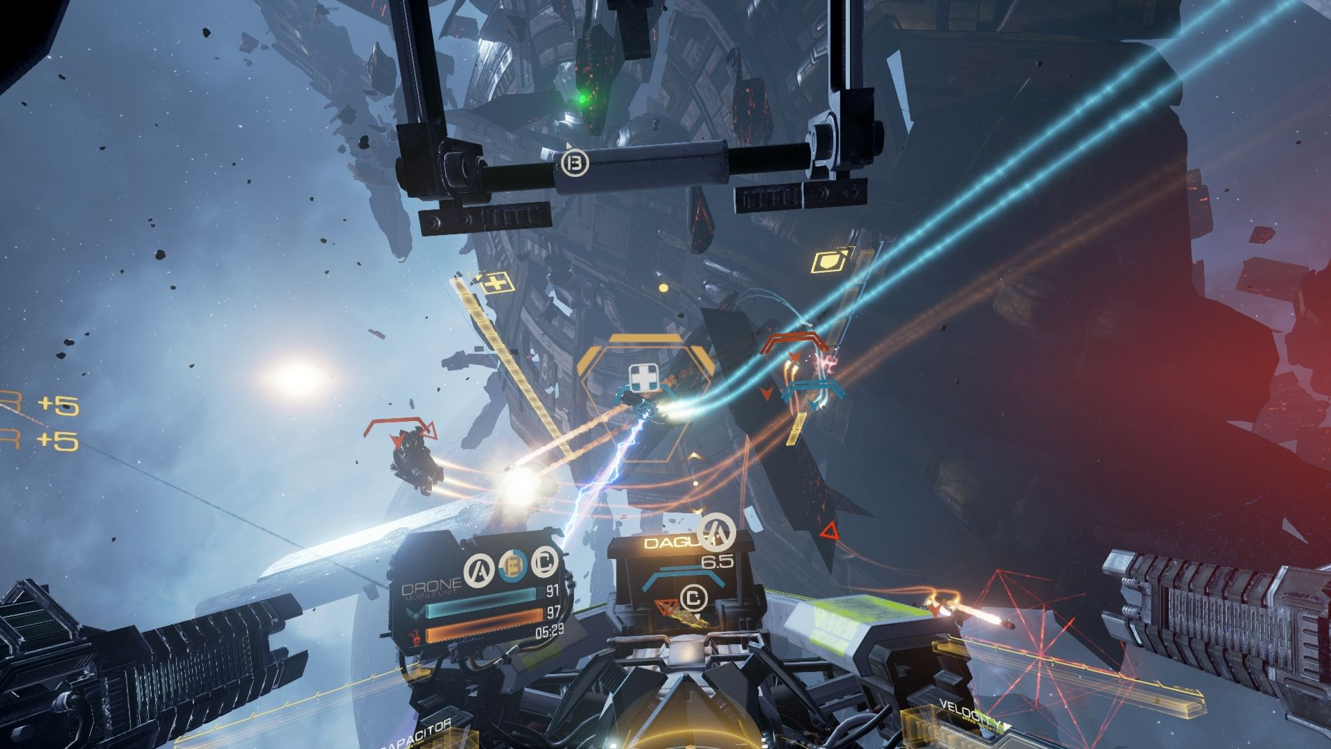 EVE: Valkyrie comes to HTC Vive this month | Virtual Reality