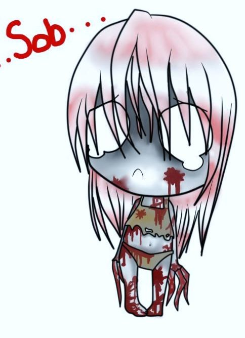 sad zombie awww cute