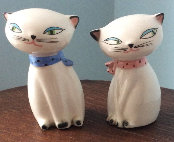 3bb5e4151a64a Vintage Holt Howard Cozy Kitten Siamese Cat Retro 1958 Squeaking ...