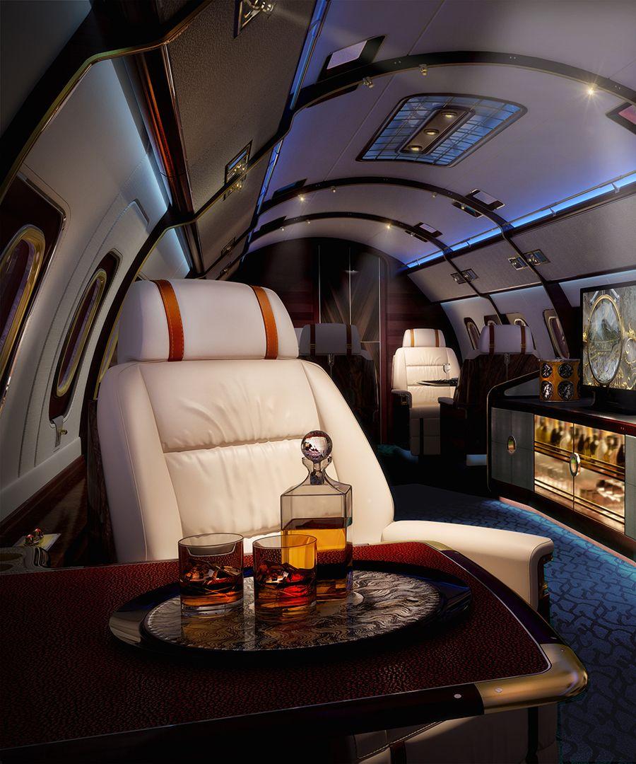 Jet Privato Lussuoso : Skyacht one million private jet aereo lusso e motori