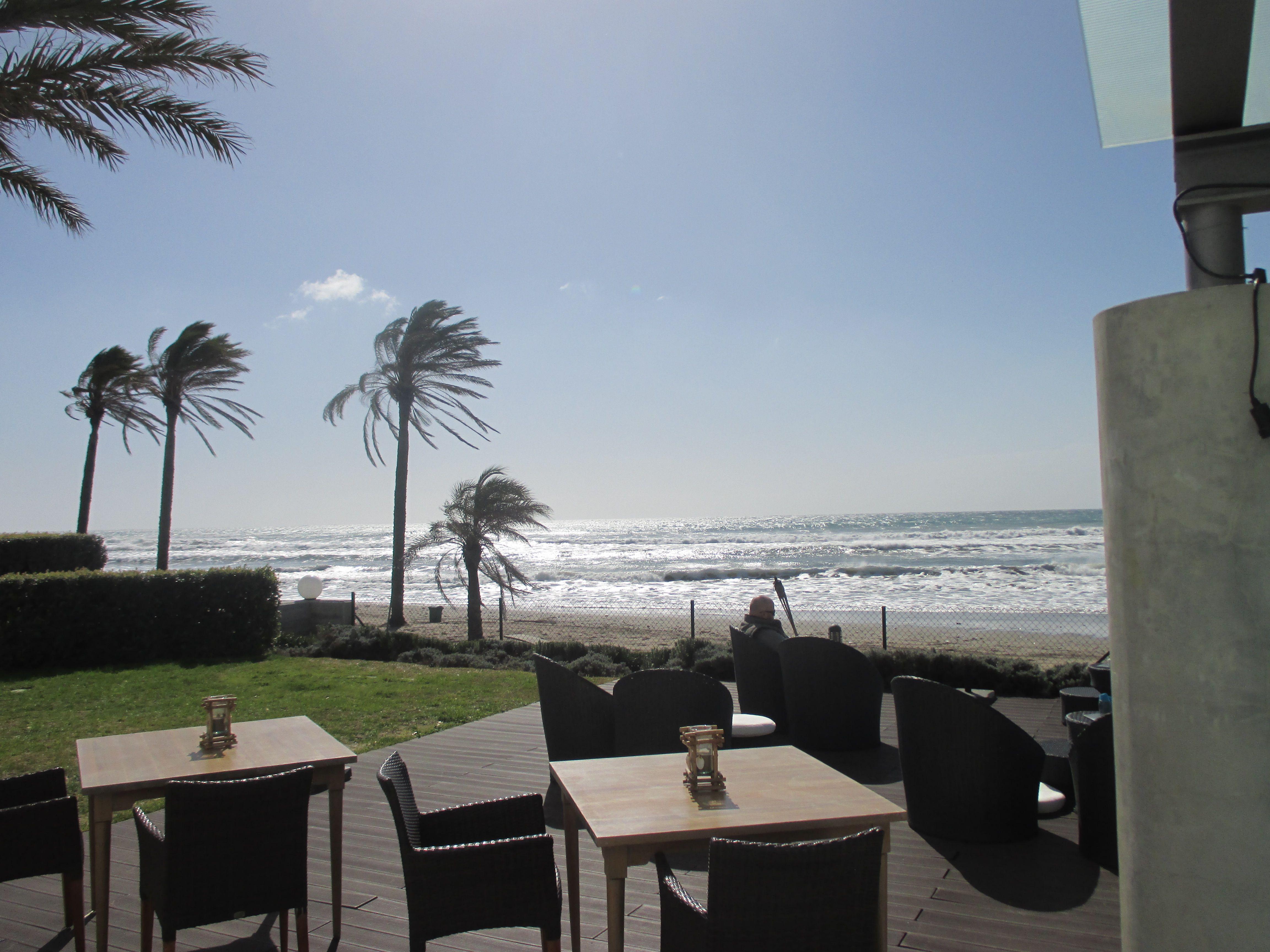 Terrace View From Beach Club Clubterracewedding Venuesmarsdel Marhouse