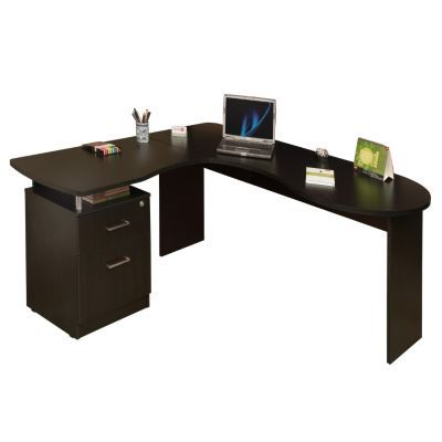 Centro de trabajo bilbao maderkit escritorios homecenter for Escritorios homecenter