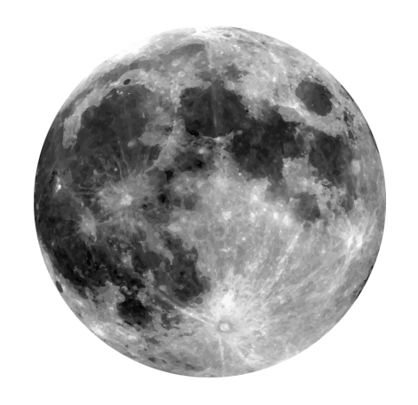 This blue moon clip art has been released to the public ...