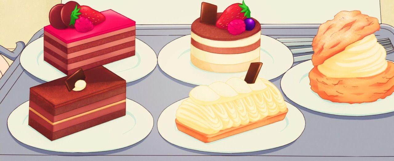 Anime dessert food desserts japanese dessert