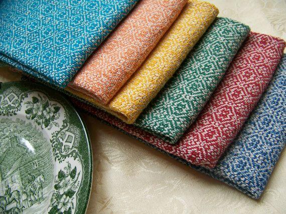 40 Colors Custom Handwoven Towel Dish Tea Kitchen Hand Bread