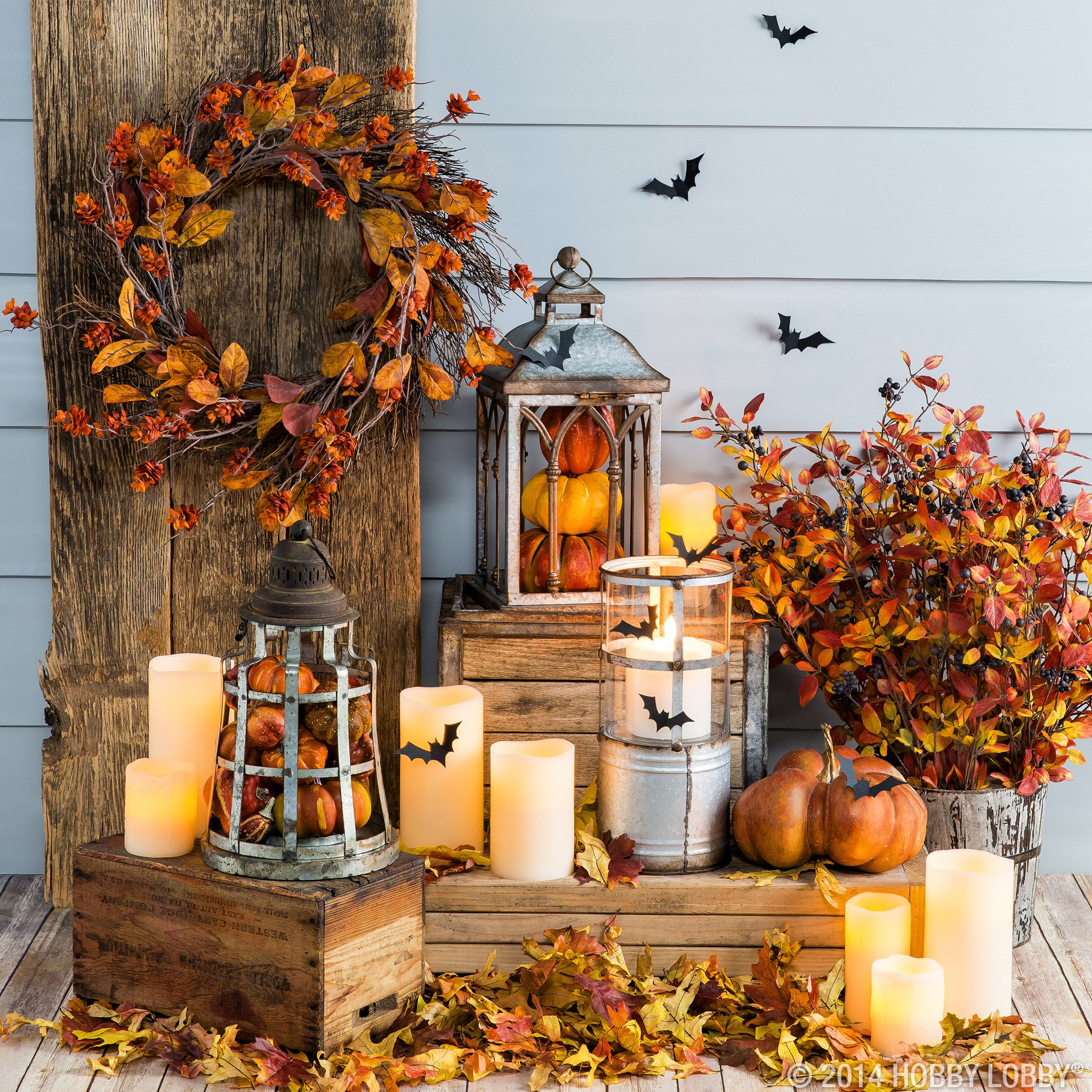Light Up Your Front Porch With Halloween-inspired Lantern