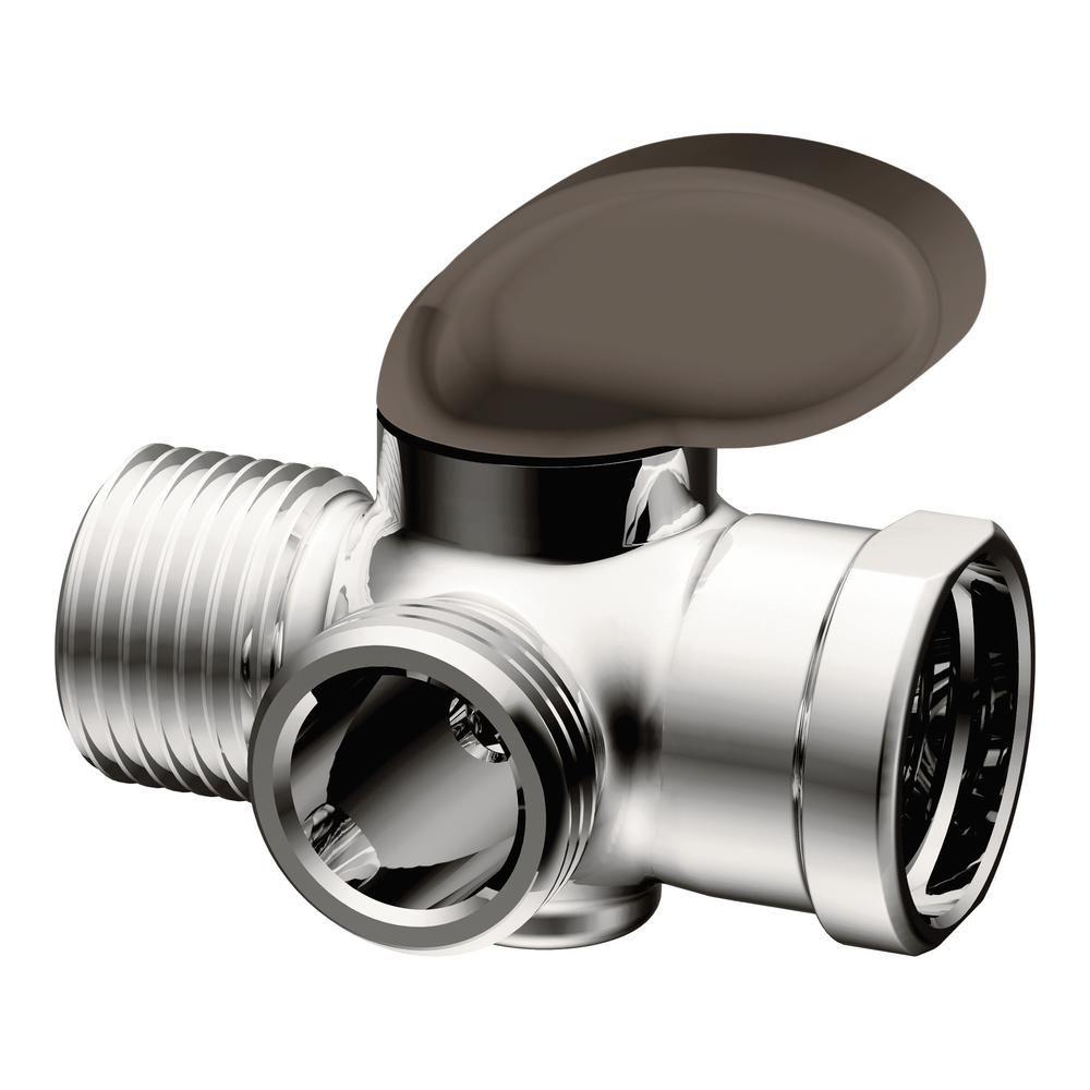 Moen Shower Arm Diverter In Chrome A720 Shower Diverter Shower