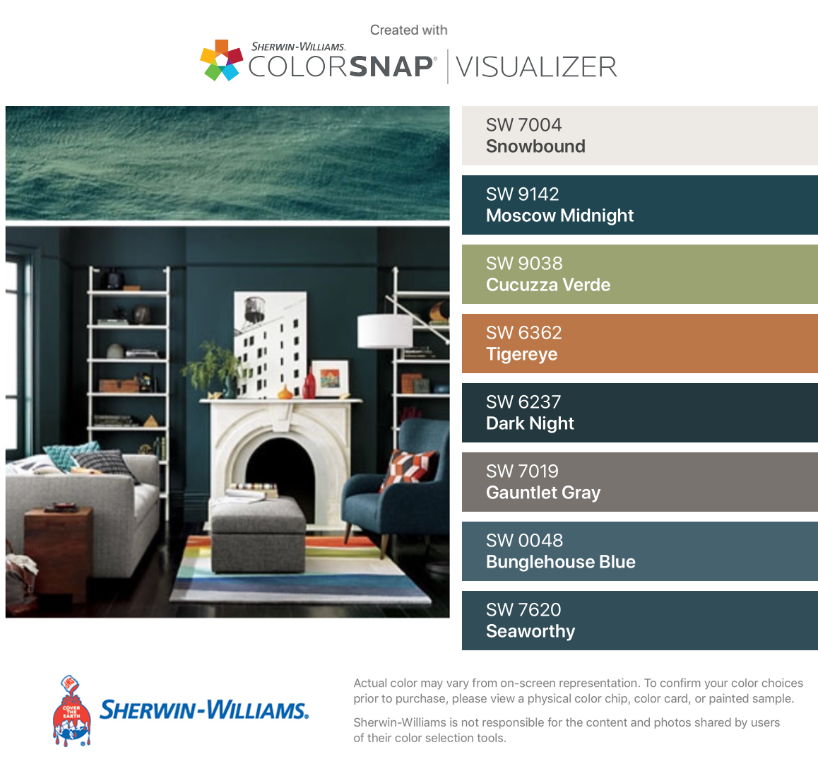 Image Result For Sherwin Williams Moscow Midnight