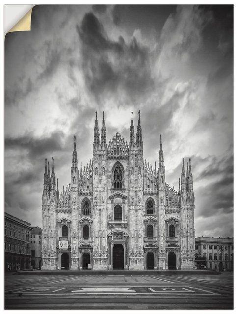 Premium Wandfolie »M. Viola: Mailänder Dom, Kathedrale Santa Maria« #filmposterdesign