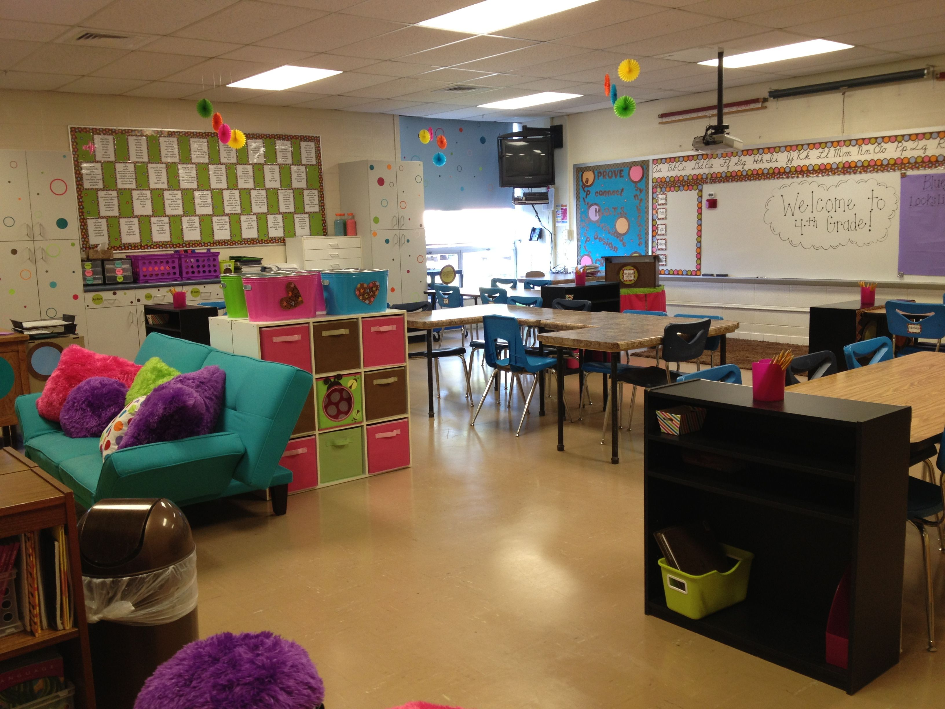 Mom S Fourth Grade Classroom