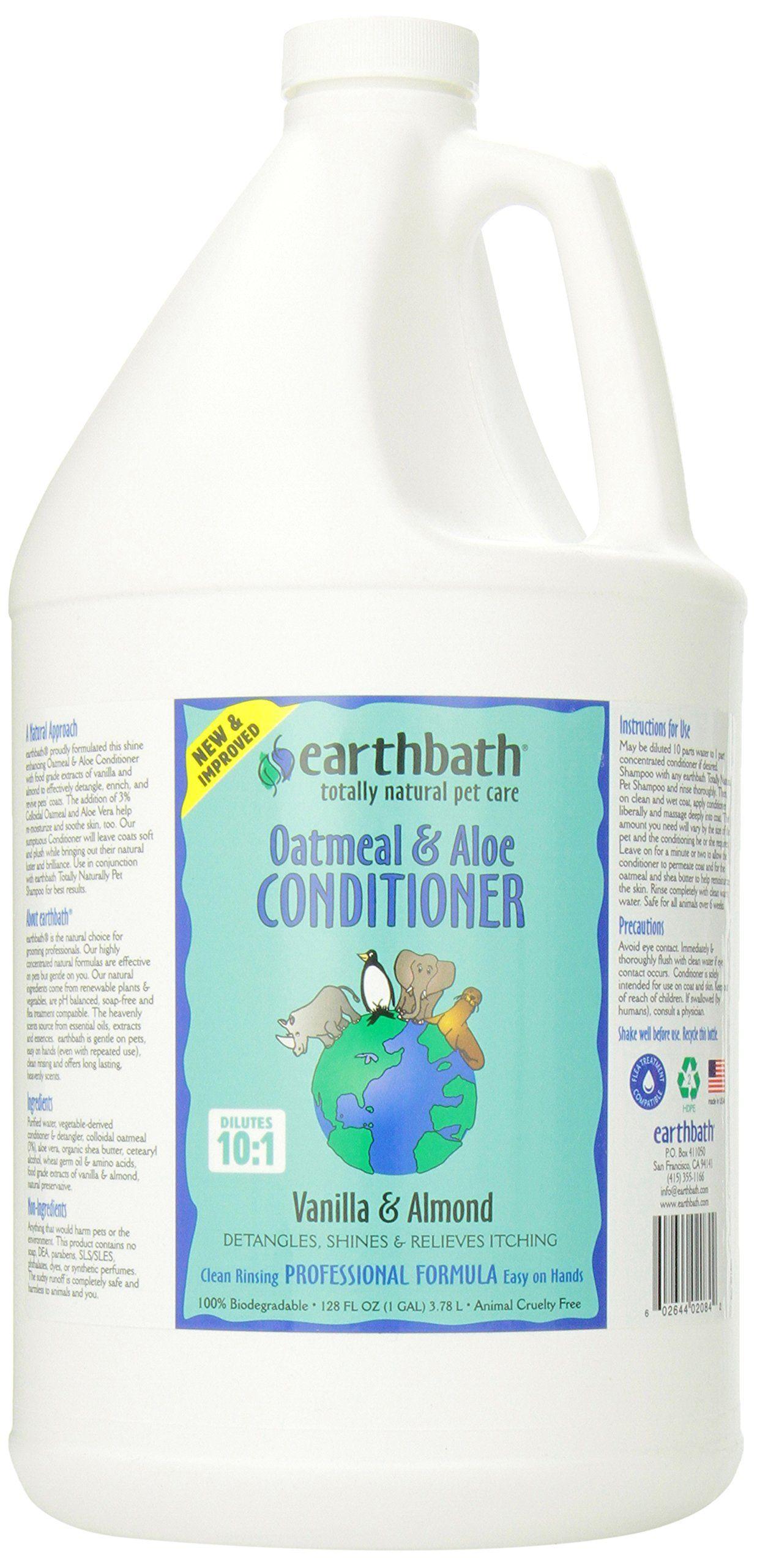 Pet Shampoos Earthbath Oatmeal and Aloe